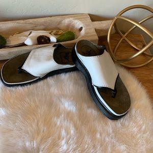 Dr Martens leather platform sandals